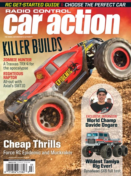 Radio Control Car Action Cover - 3/1/2019