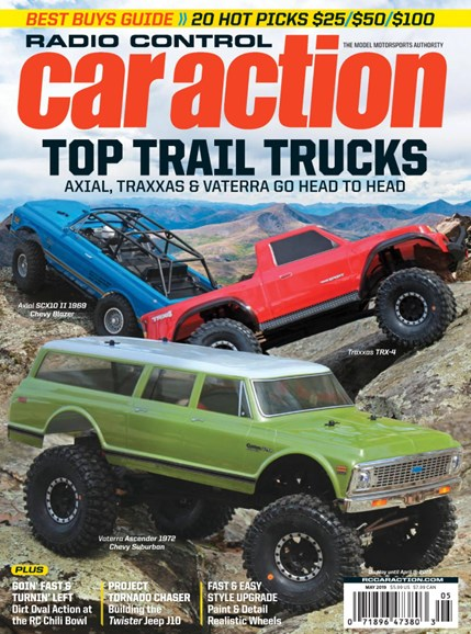 Radio Control Car Action Cover - 5/1/2019