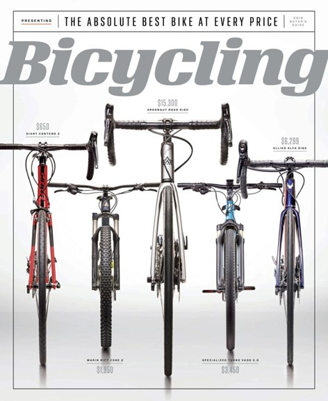 Bicycling Cover - 5/1/2019