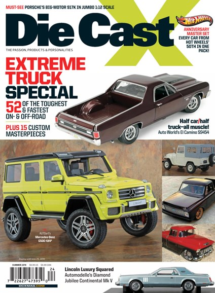 Diecast X Cover - 6/1/2019