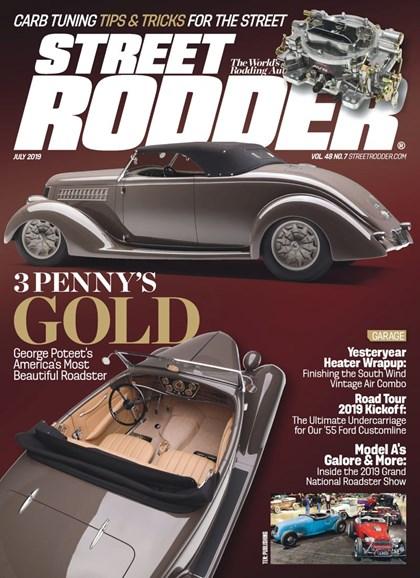 Street Rodder Cover - 7/1/2019