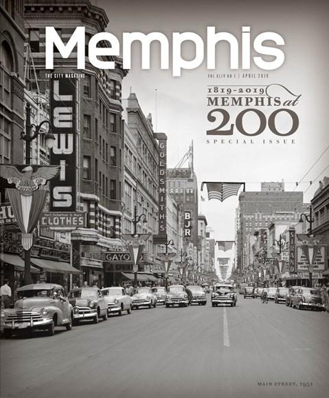 Memphis Cover - 4/1/2019