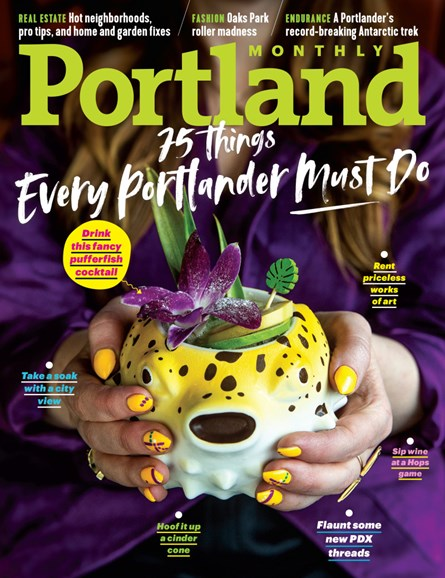Portland Monthly Cover - 4/1/2019