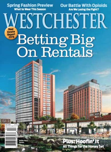 Westchester Magazine Cover - 4/1/2019