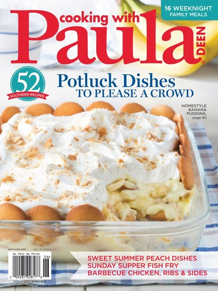 Cooking With Paula Deen Cover - 5/1/2019