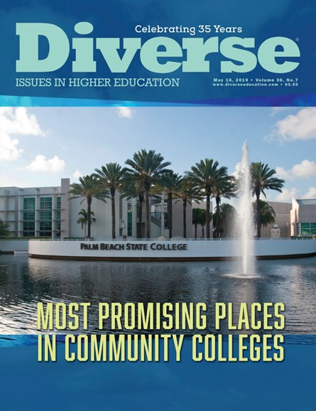 Diverse: Issues In Higher Education Cover - 5/16/2019