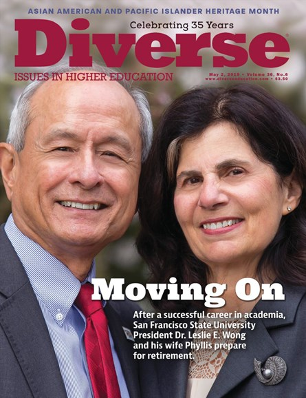 Diverse: Issues In Higher Education Cover - 5/2/2019