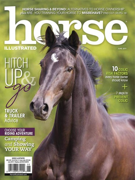 Horse Illustrated Cover - 6/1/2019