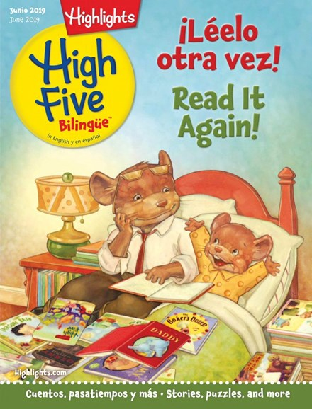 Highlights High Five Bilingue Cover - 6/1/2019