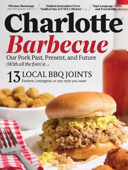 Charlotte Magazine Cover - 6/1/2019