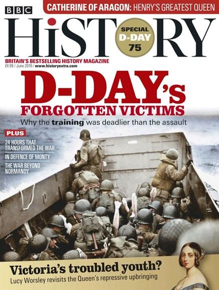 BBC History Cover - 6/1/2019