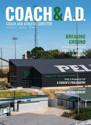 Coach and Athletic Director Magazine | 4/2019 Cover