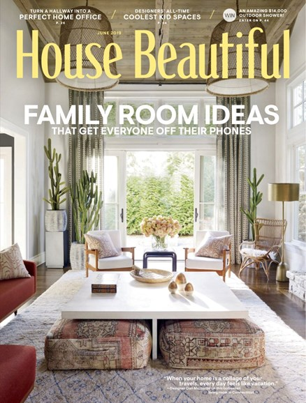 House Beautiful Cover - 6/1/2019
