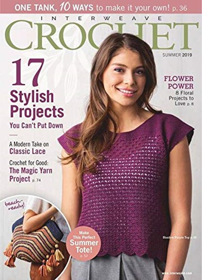 Interweave Crochet Cover - 6/1/2019