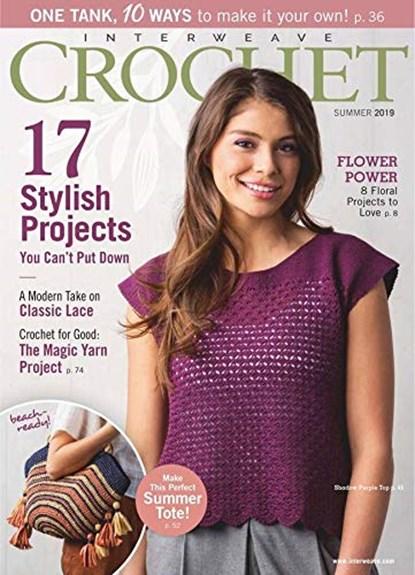 Interweave Crochet Magazine | 6/2019 Cover