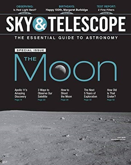 Sky & Telescope Cover - 7/1/2019
