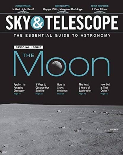 Sky & Telescope Magazine   7/2019 Cover