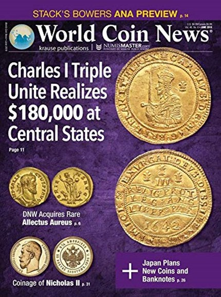 World Coin News Cover - 6/1/2019