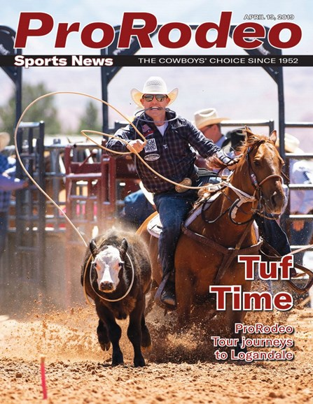 Pro Rodeo Sports News Cover - 4/19/2019
