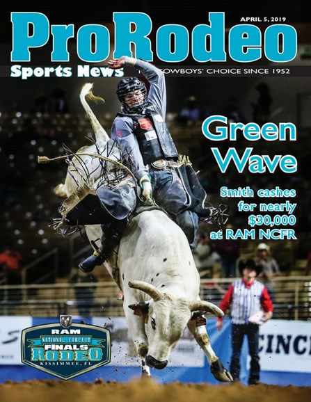 Pro Rodeo Sports News Cover - 4/5/2019