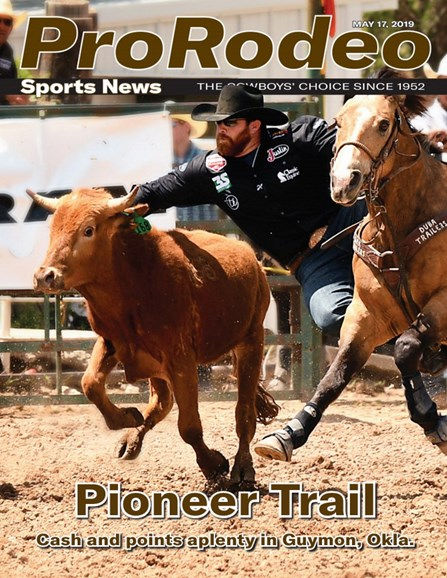 Pro Rodeo Sports News Cover - 5/17/2019