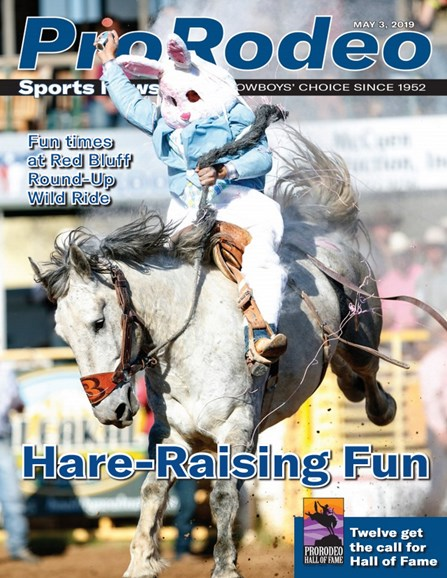 Pro Rodeo Sports News Cover - 5/3/2019