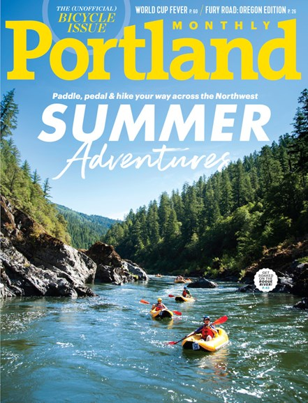Portland Monthly Cover - 6/1/2019