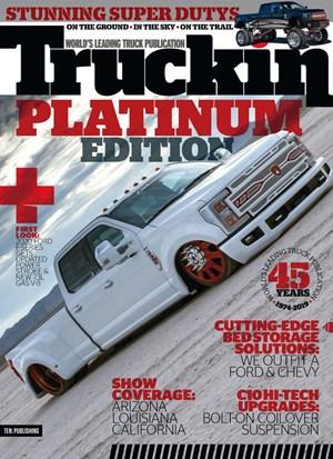 Truckin' Magazine   8/2019 Cover