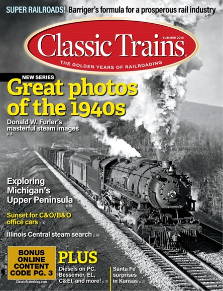 Classic Trains Cover - 6/1/2019