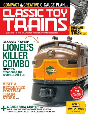 Classic Toy Trains Magazine | 7/2019 Cover