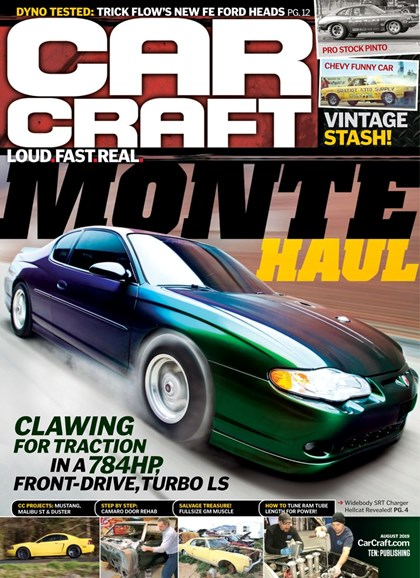 Car Craft Cover - 8/1/2019