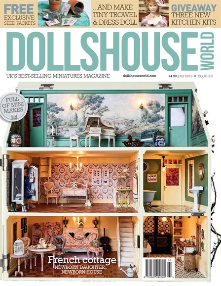 Dolls House World Cover - 7/1/2019