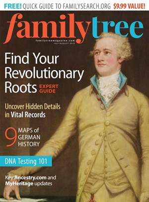 Family Tree Magazine | 7/2019 Cover