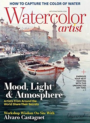 Watercolor Artist Magazine | 8/2019 Cover