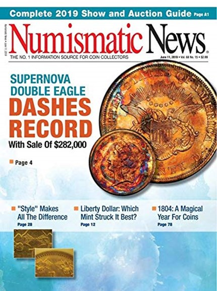 Numismatic News Cover - 6/11/2019