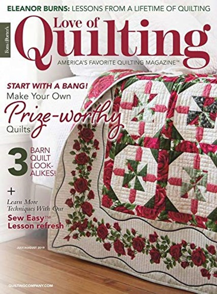 Fons & Porter's Love of Quilting Cover - 7/1/2019
