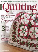 Fons & Porter's Love of Quilting   7/2019 Cover