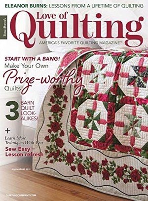 Fons & Porter's Love of Quilting | 7/2019 Cover