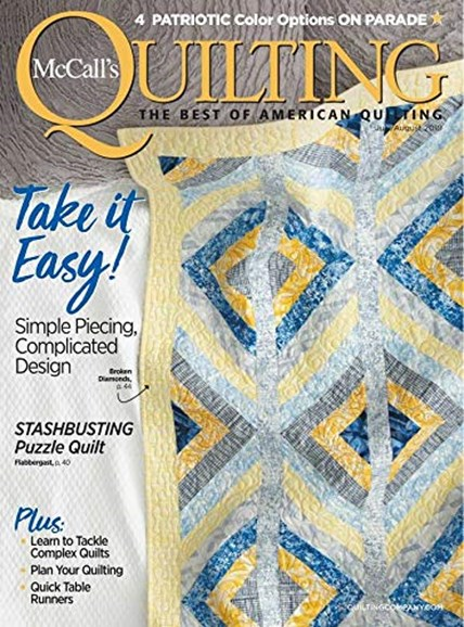 McCall's Quilting Cover - 7/1/2019