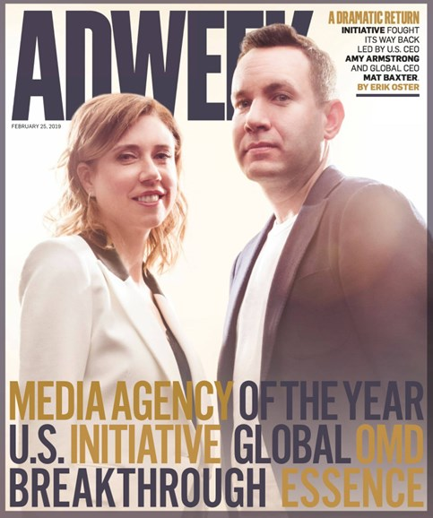 Adweek Cover - 2/25/2019