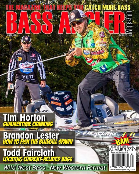 Bass Angler Cover - 6/1/2019