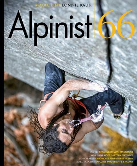 Alpinist Cover - 6/1/2019