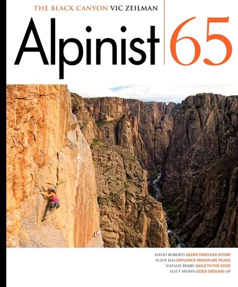 Alpinist Cover - 3/1/2019