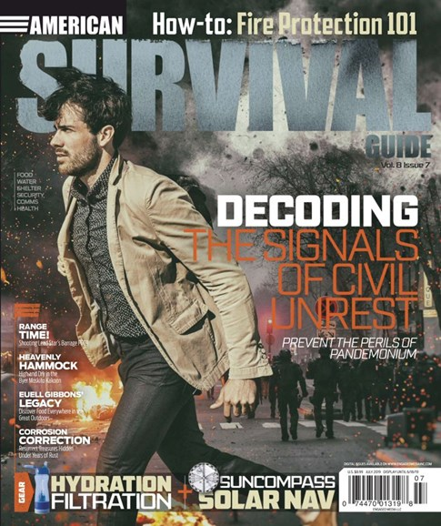 American Survival Guide Cover - 7/1/2019