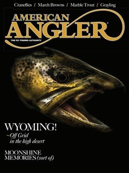 American Angler Cover - 3/1/2019