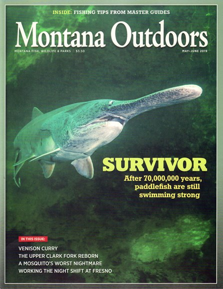 Montana Outdoors Cover - 5/1/2019