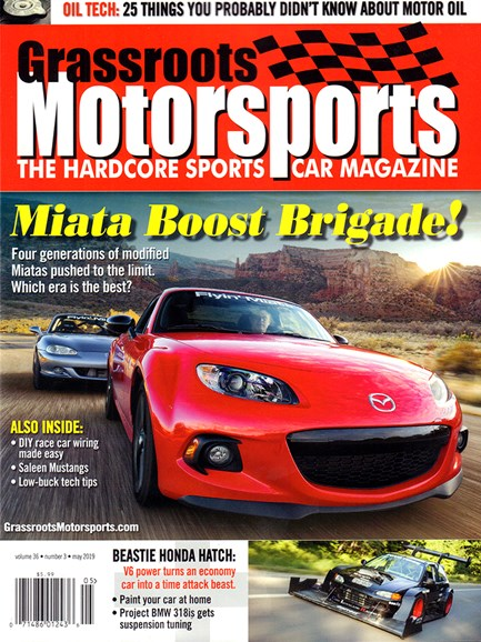 Grassroots Motorsports Cover - 5/1/2019