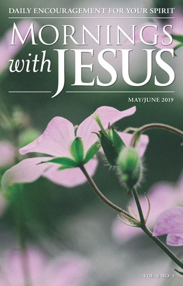 Mornings with Jesus Cover - 5/1/2019
