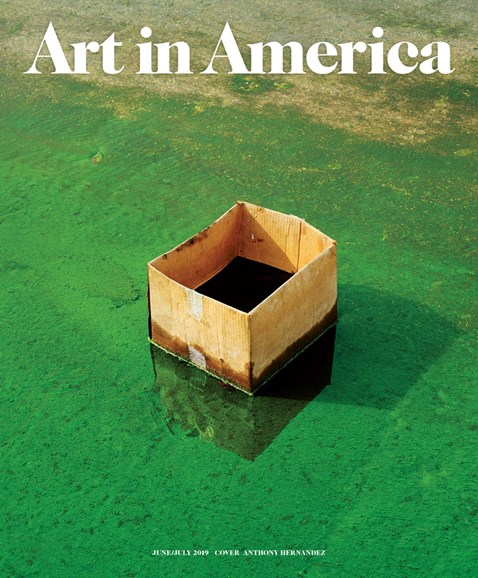 Art In America Cover - 6/1/2019