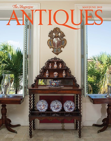 The Magazine Antiques Cover - 5/1/2019